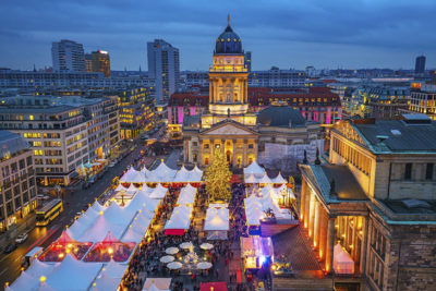 Berlin at night time